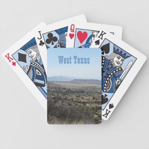 West Texas Landscape Card Deck