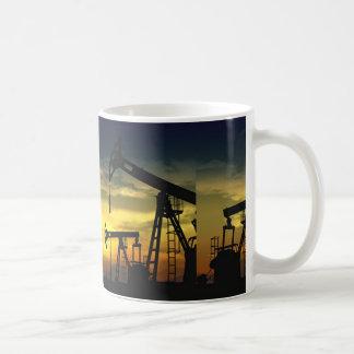 West Texas Oil Drilling White 11 oz Classic Mug