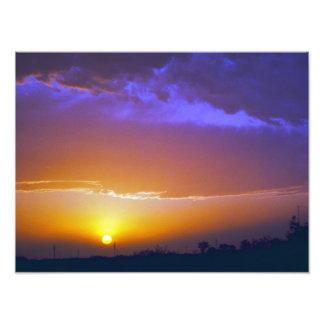 West Texas Sunset #2 Photo Art