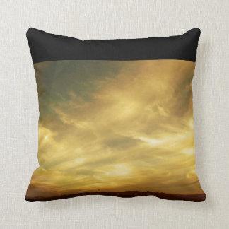 West Texas Sunset Throw Cushion