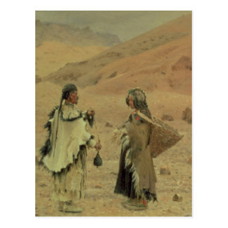 West Tibetans, 1875 Postcard