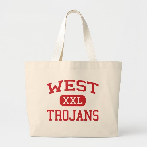 West - Trojans - West High School - West Texas Tote Bag