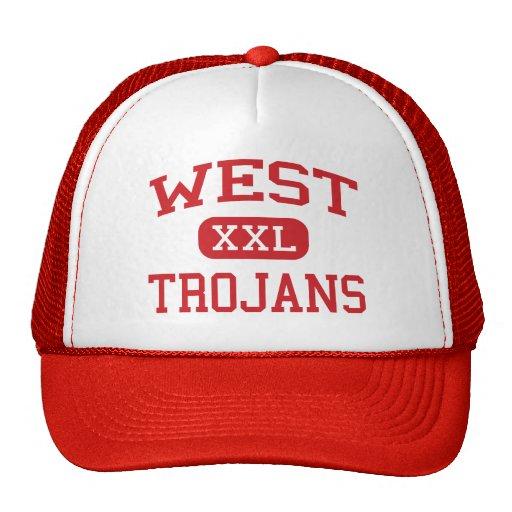 West - Trojans - West Middle School - West Texas Hat