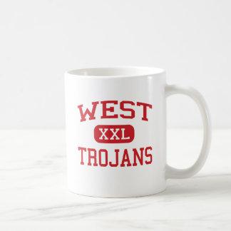 West - Trojans - West Middle School - West Texas Mugs