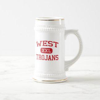 West - Trojans - West Middle School - West Texas Coffee Mugs