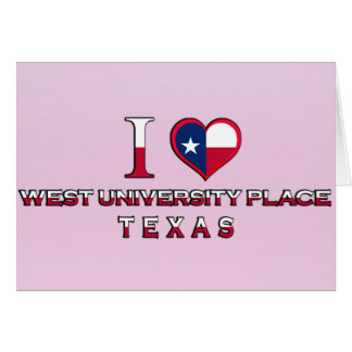 West University Place, Texas Greeting Cards