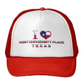 West University Place, Texas Trucker Hat