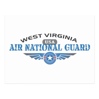 West Virginia Air National Guard Postcard