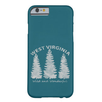 West Virginia Barely There iPhone 6 Case