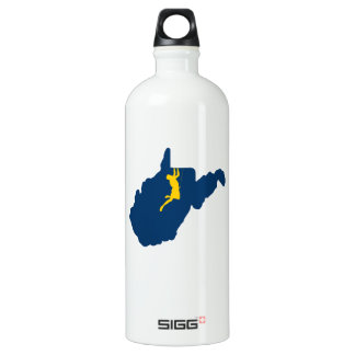 West Virginia Climbing Water Bottle