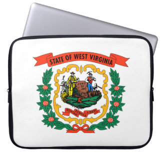west virginia coat arms state flag united america computer sleeve