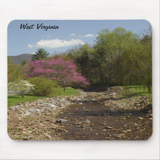 West Virginia Creek Mousepad