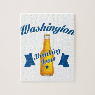 West Virginia Drinking team Jigsaw Puzzle