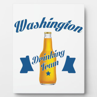 West Virginia Drinking team Plaque