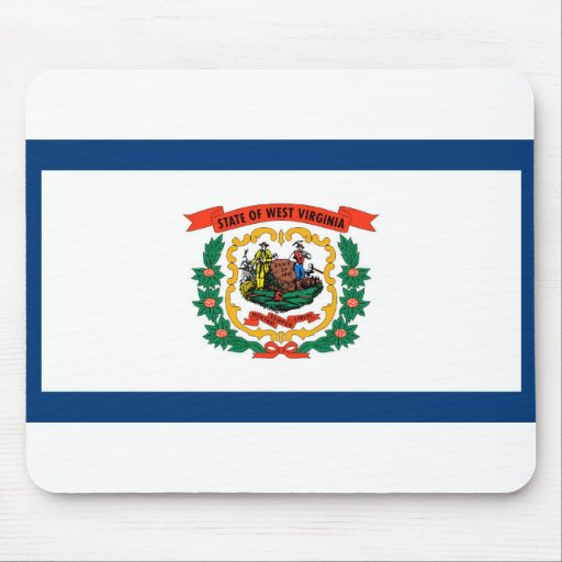 West Virginia Flag Mouse Pad