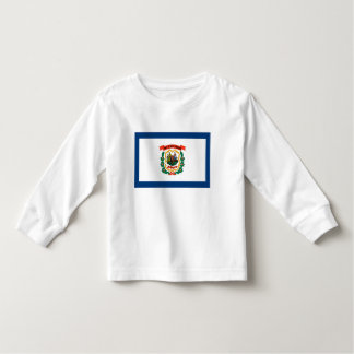 West Virginia Flag Shirt