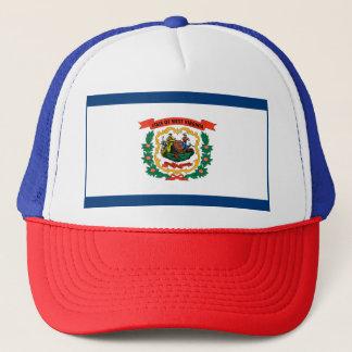 West Virginia Flag Trucker Hat