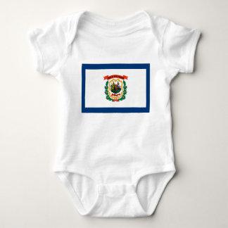 West Virginia Flag Tee Shirt