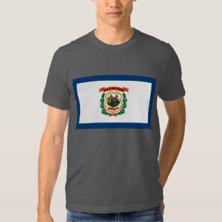 West Virginia Flag Tshirts