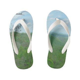 West Virginia Green Mountains Kid's Thongs