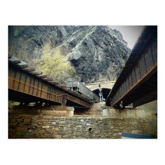West Virginia Harper's Ferry Bridge Postcard