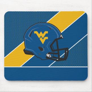 West Virginia Helmet Mousepads