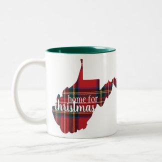 West Virginia - Home for Christmas Mug