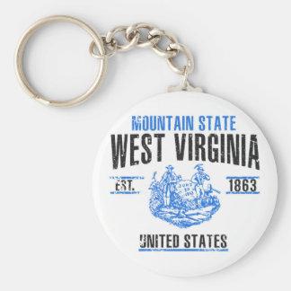West Virginia Key Ring