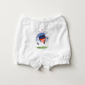 west virginia loud and proud, tony fernandes nappy cover