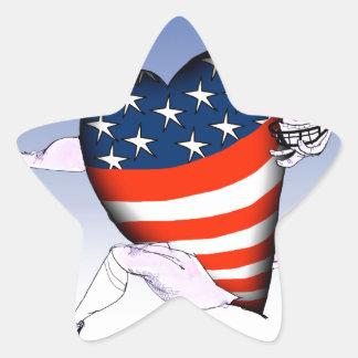 west virginia loud and proud, tony fernandes star sticker