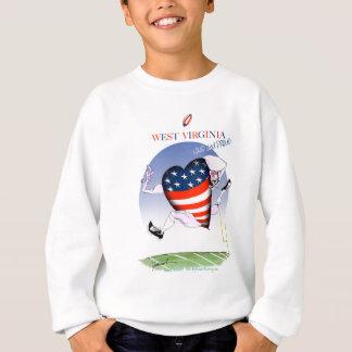 west virginia loud and proud, tony fernandes sweatshirt