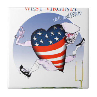 west virginia loud and proud, tony fernandes tile
