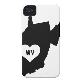 West Virginia Love Case-Mate iPhone 4 Case