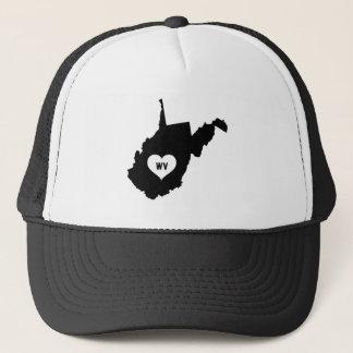West Virginia Love Trucker Hat