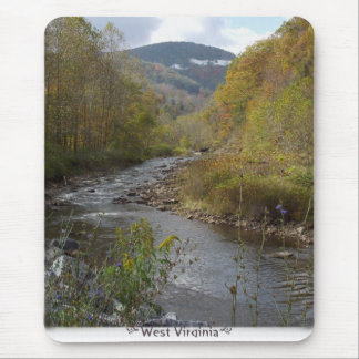 West Virginia mountain creek Mousepad