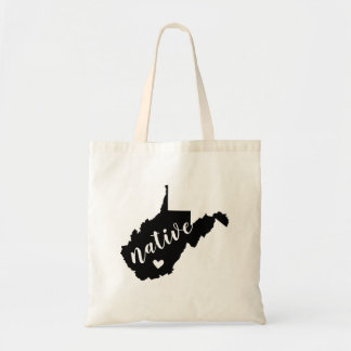 West Virginia Native State Tote Bag