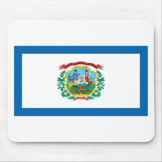 West Virginia  Official State Flag Mouse Pads
