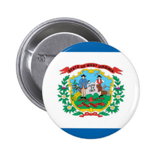 West Virginia Official State Flag Pin