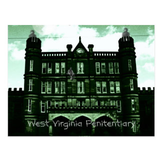 West Virginia Penitentiary Postcard