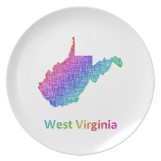 West Virginia Plate