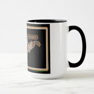 West Virginia Rig Up Camo Mug