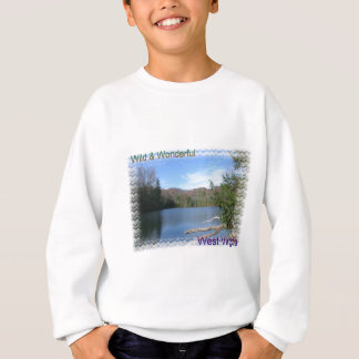 West Virginia Rustic Lake Sweatshirt