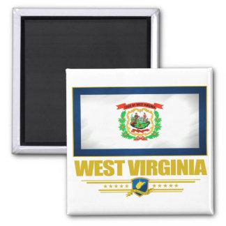 West Virginia (SP) Square Magnet