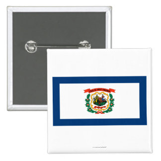West Virginia State Flag Buttons