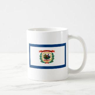 West Virginia State Flag Basic White Mug