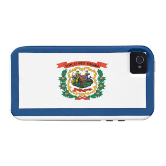 West Virginia State Flag Vibe iPhone 4 Case