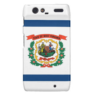West Virginia State Flag Motorola Droid RAZR Case