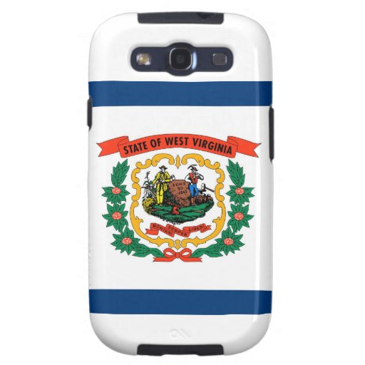 West Virginia State Flag Galaxy SIII Cover