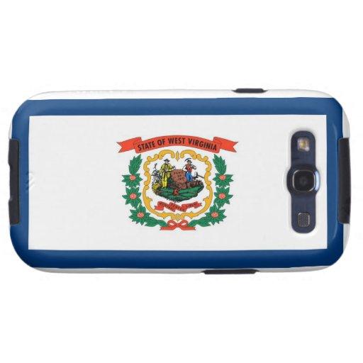 West Virginia State Flag Galaxy SIII Case