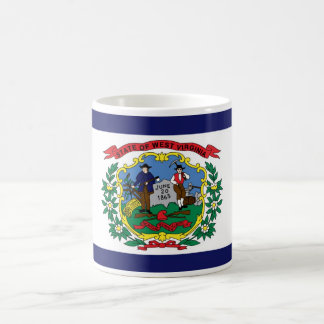 West Virginia State Flag Coffee Cup Mug
